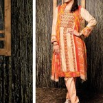 Amna ismail Semi Stitched Winter Collection 2014 4 - Copy