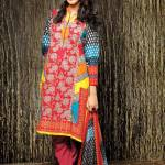 Amna ismail Semi Stitched Winter Collection 2014 9