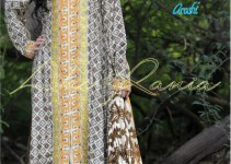 Aroshi Embroidered Classics Winter Dresses Collection 2014-15 1