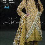 Aroshi Embroidered Classics Winter Dresses Collection 2014-15 9