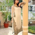 Ayesha & Usman Qamar Fall Suits Choice 2014- 15 For Females (6)