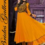 Evening Anarkali Dresses By Neha Dhupia Beige (8)