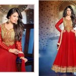Floor Touch Padded Hottest Anarkali Clothes For Ladies (4)