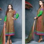 Ittehad Textile Fashionable Embroidery Clothes 2014 -15 (6)
