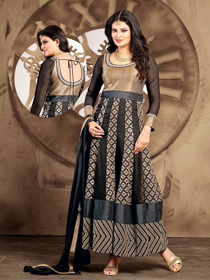 Ladies Wear Beautiful Anarkali Dresses Fashion 2015 (6)