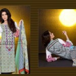 Mashaal Embroidered Shawl Collection 2014-15 7