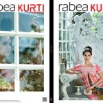 Rabea Kurti Collection 2014-15 By Shariq Textile