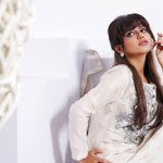 Zunaira's Lounge white Dresses Collection 2014-15