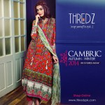 Cambric Un-Stitched Winter Collection 2014 2
