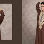 Lala Celebre Embroidered Woolen Shawl Collection 1