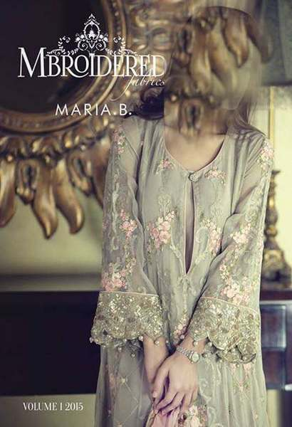 Maria B latest Party Dresses Collection For Winter 2015 (2)