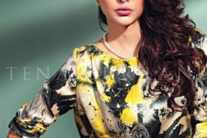 Tena Durrani Summer Lawn Embroidery Suits Collection 2015