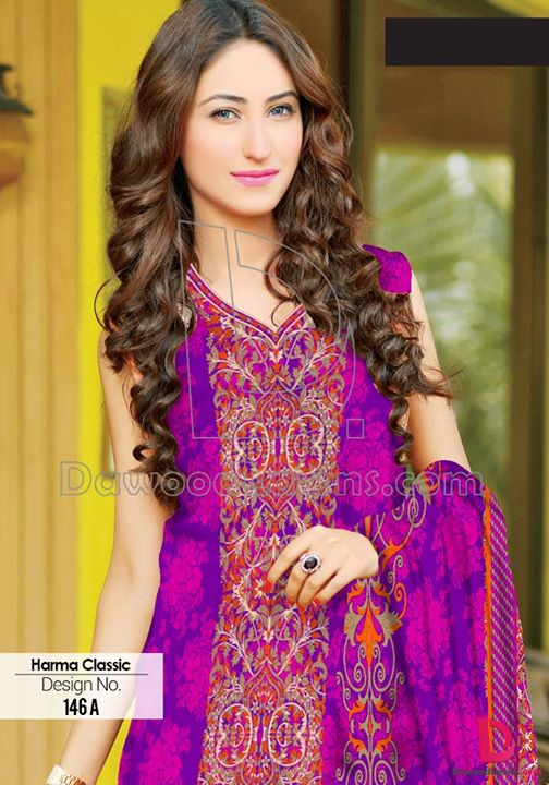 Dawood Harma Classic Summer Lawn Collection 2015  in Pakistan