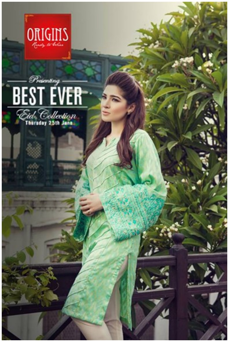 Origins Eid Collection 2015 with Ayesha Omer (3)