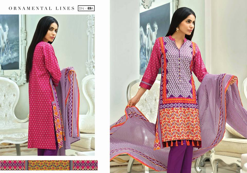 Satrangi Stylish Summer Eid Lawn 2015 by Bonanza Garments (3)