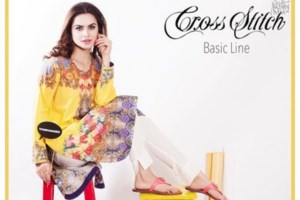 Cross Stitch Formal Eid Dresses 2015 for Girls (2)