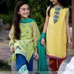 Designer MARIA.B kids Eid Wear Dresses 2015 Collection