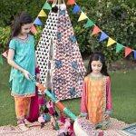 Kids Eid New Dresses Design 2015 By MARIA.B (2)