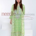 Needle Impression Latest Design of Eid Dresses 2015 for Women (2)