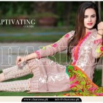 Charizma Luxury Lawn Party Wear 2015 Vol-03 for Ladies (1)