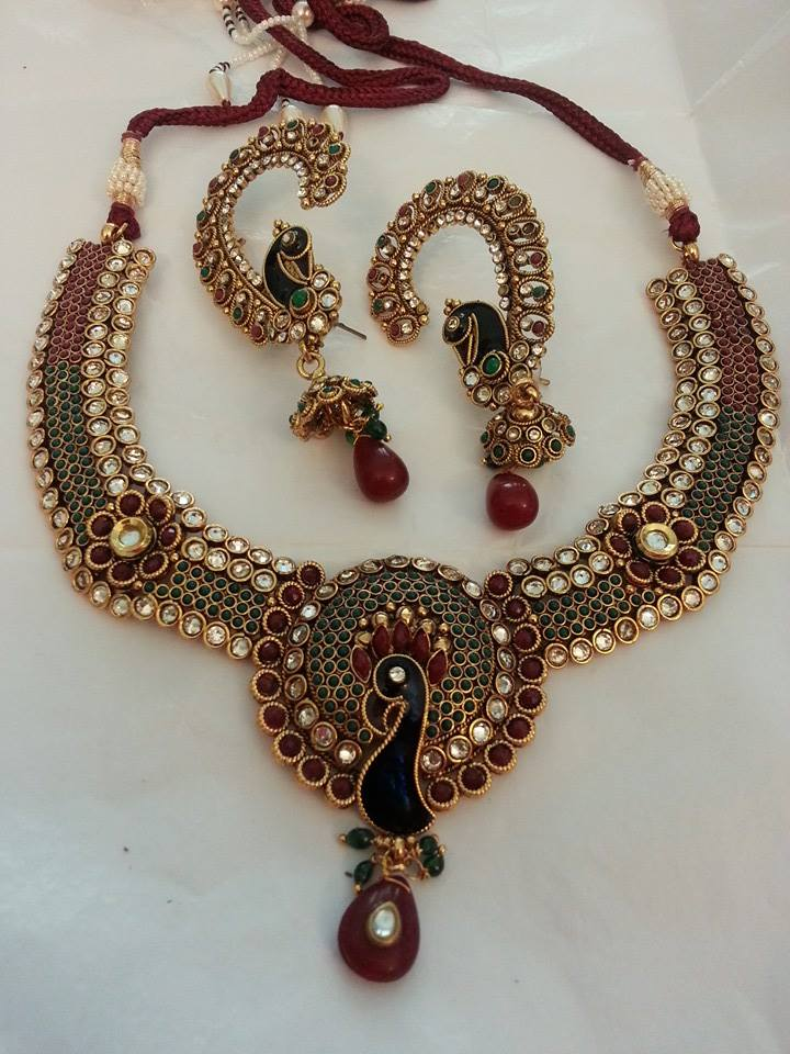 Latest Jewellery Collection 2015 by JEWELICIOUS (1)