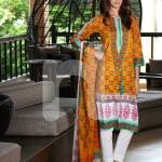 Nisha Fabrics trendy Saavan Collection 2015 by Nishat Linen (9)