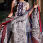 Nisha Fabrics trendy Saavan Collection 2015 by Nishat Linen (1)
