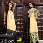 Amna Ismail Colorful Chiffon Collection 2015