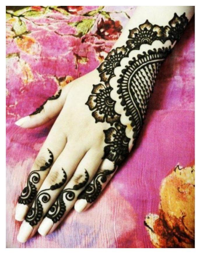 Mehndi Designs For Hands New Updates : Hand mehndi designs pics eid ul azha henna