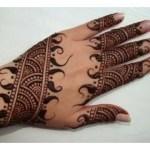 Lovely art of Mehndi Design