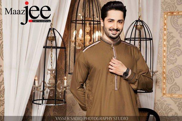 Maazjee Men's Men's Eid Kurta Collection 2015