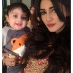 Latest Pictures of Pakistani hot Model Mathira sons Birthday with spouse
