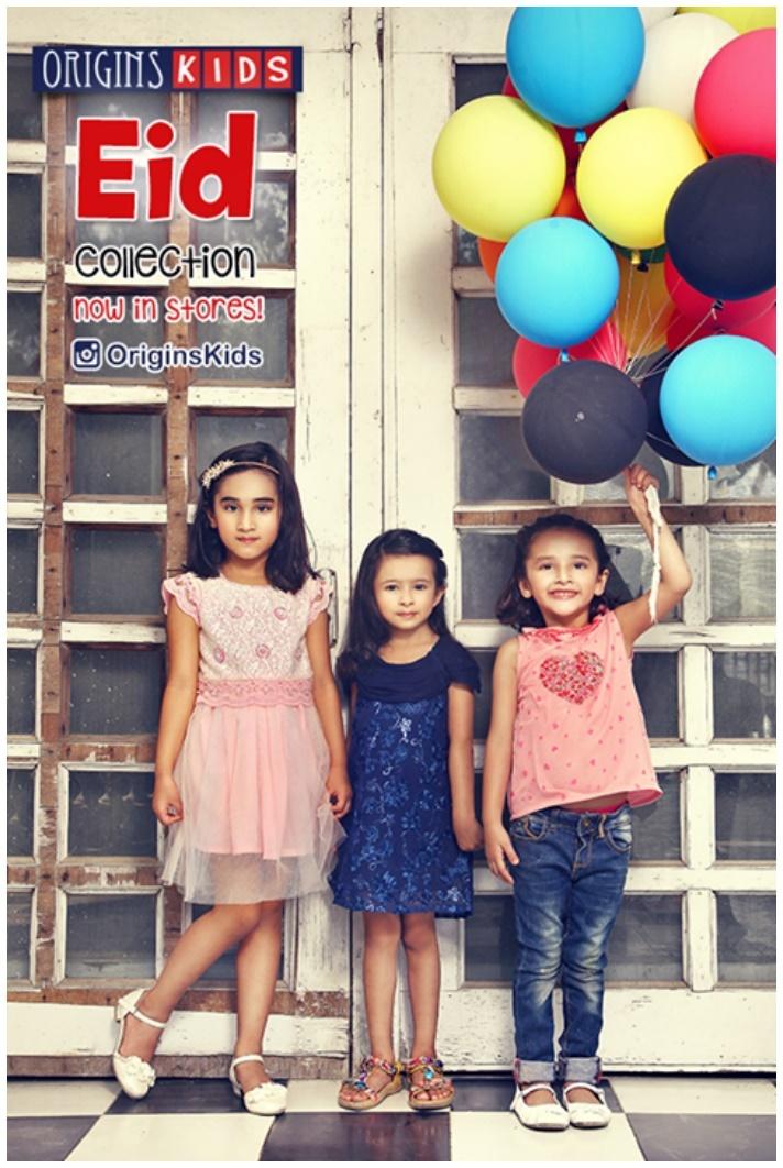 Kids wear lehnga design by Origins Kids