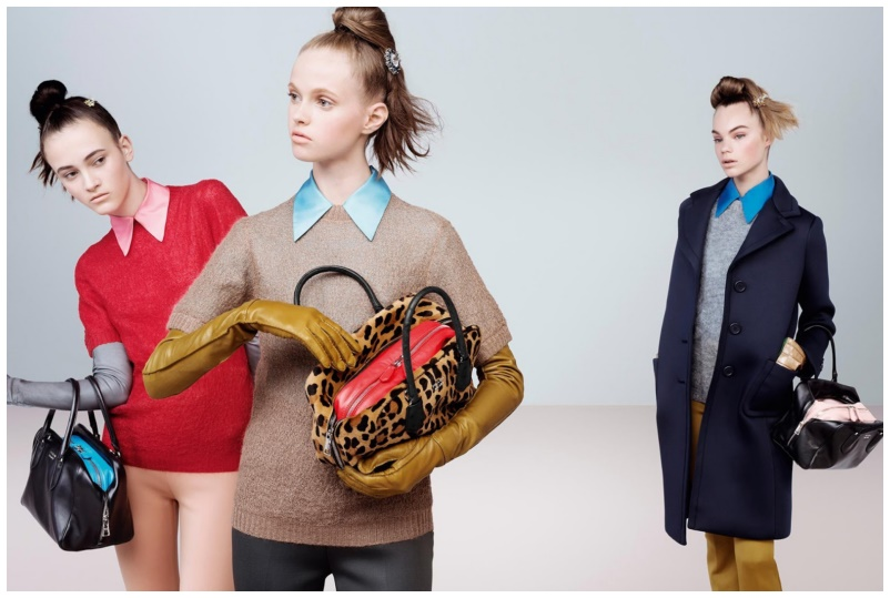 Prada Fall Winter 2015-2016 campaigns