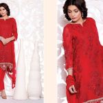 Latest SNM Embroidered Eid Lawn Dresses Collection 2016