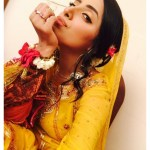Pakistani Talented Actress Sanam Chaudhry Mehndi Pictures