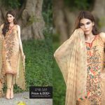 Embroidered Chiffon Fall winter 2015 By So Kamal