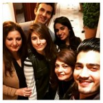 Syra Shehroz Unseen Family Showbiz Freinds Pictures (3)