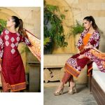 Monsoon Printed Cambric Winter Collection 2015-16