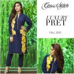 Cross Stitch Cross Stitch Seasonal Kurta Dresses Design 2015-16 for Girls (3)Lawn Dresses 2015-16