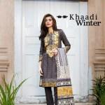 Khaadi Fall Winter Cotton Dress Collection 2015-16