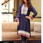 Saadia Asad Digital Winter Kurti 2016 Fashion for Girls (2)