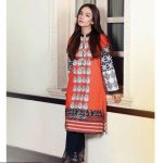 Saadia Asad Digital Winter Kurti Fashion for women (1)