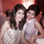 Syra Yousuf with husband