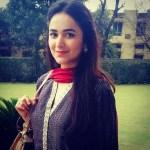 Yumna Zaidi in yellow suit