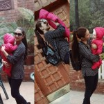 Ayeza Khan Playing with here cute baby