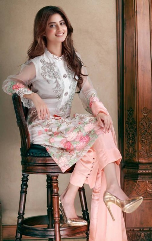 Model amp actress sajal ali photoshoot for agha noor