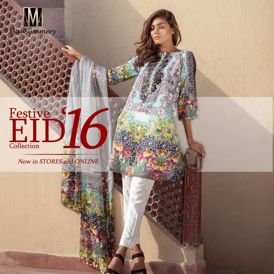Mausummery Eid Ready to Wear Collection 2016-2017 with Prices
