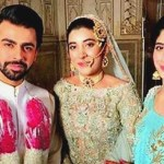 Farhan Saeed and Urwa Hocane at wedding in India