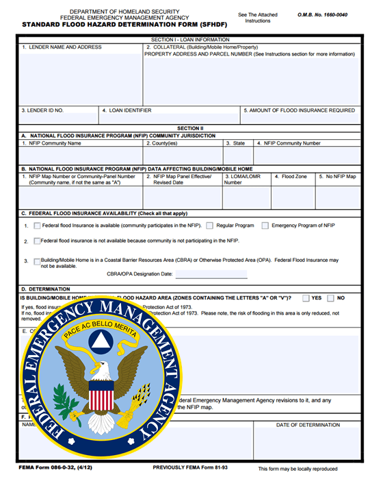 Homeowners Insurance New Hampshire Fema Flood Determination Form | New Fema Flood Map